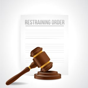 Restraining order documents